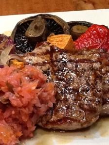 kim chi steak